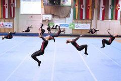 TSZ Elite Meisterinnen am Boden