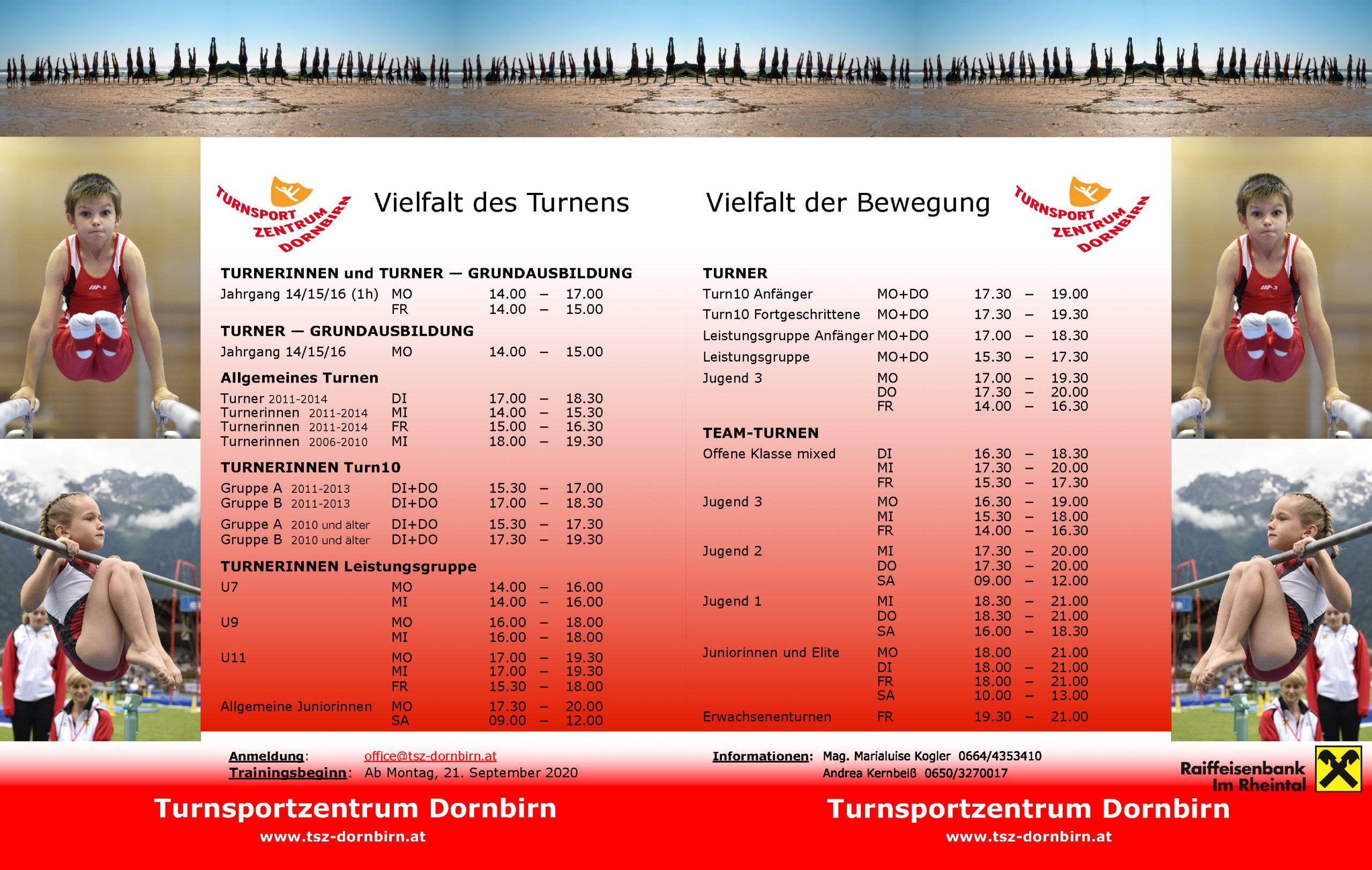 Turnsportzentrum Dornbirn 2020 2021